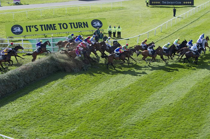 The Canal Turn fence at Grand National
