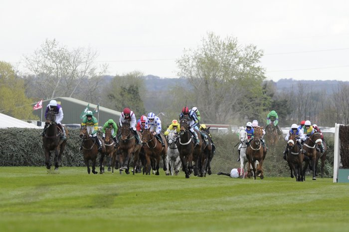 The Chair fence at Grand National