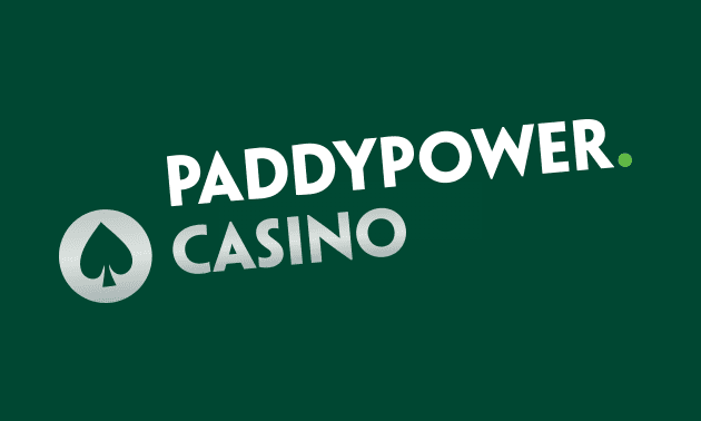 Paddy Power Casino screenshot.