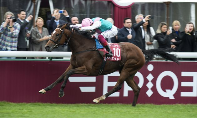 Frankie Dettori and Enable suffer Prix de l'Arc de Triomphe heartache