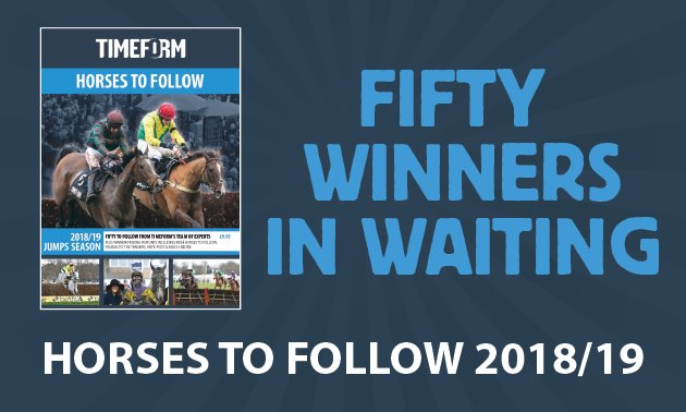 Horses To Follow Jumps 2018/19