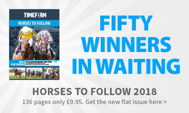 Horses To Follow 2018 Flat on sale now