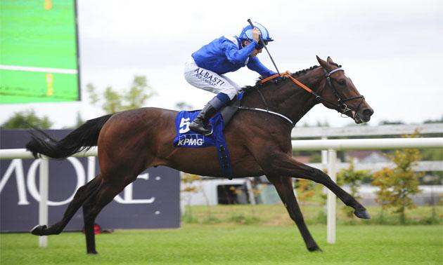 Sovereign causes Irish Derby upset