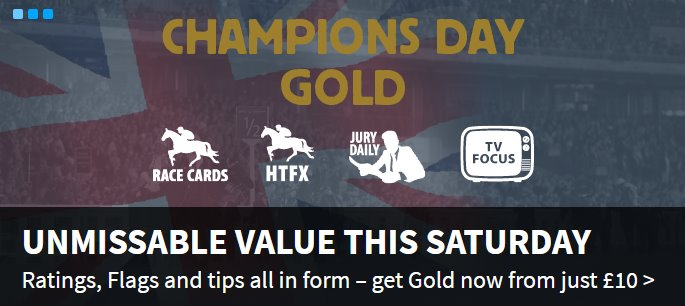 Champions Day Gold