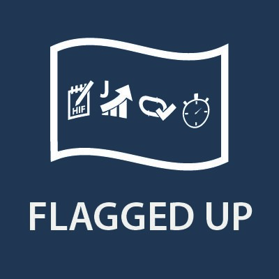 Flagged Up icon