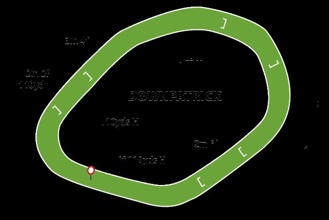 Downpatrick map