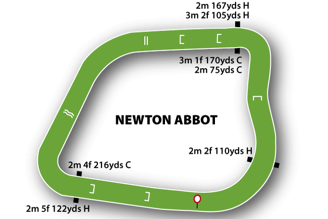 Newton Abbot map