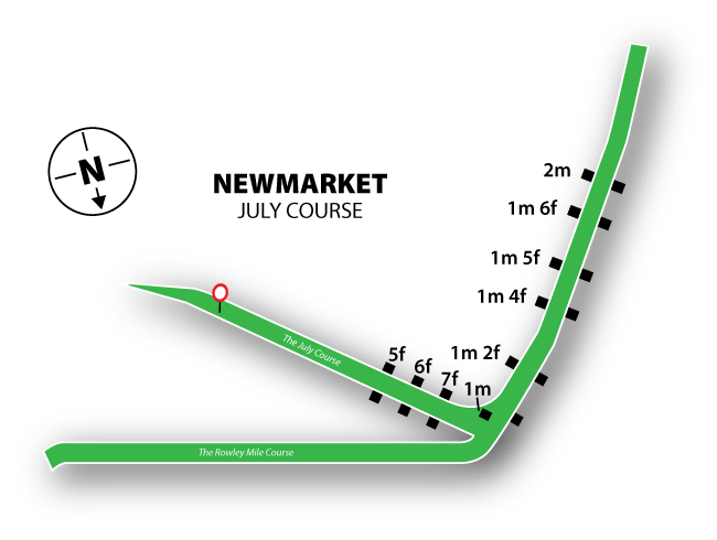 Newmarket (July) map